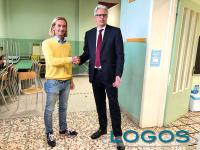 Turbigo - Christian Garavaglia con il nuovo sindaco Fabrizio Allevi