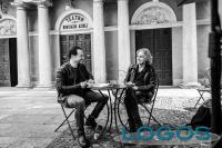 Musica / Televisione - Ligabue e Stefano Accorsi (Foto Jarno Iotti)