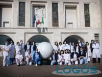 Milano - Gli operatori sanitari del Niguarda
