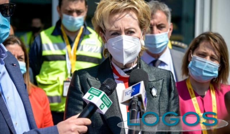 Milano - La vicepresidente della Lombardia, Letizia Moratti (Foto internet)