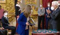 Inveruno - Greta con il Presidente della Repubblica