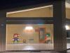Castano / Scuole - Super Mario sul muro della scuola di via Giolitti