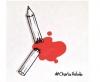 Attualità - Matita macchiata di sangue (da internet)