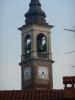 Cuggiono - L'orologio sul campanile della basilica di San Giorgio