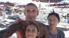 Castano Primo - Tony Pignatelli, la moglie Alessia e la loro bimba