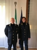 Arconate - La nuova vigilessa, Noemi De Luca, col comandante Antonello Grassi