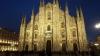 Papa a Milano - Il Duomo illuminato a festa
