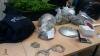 Castano Primo - Il materiale sequestrato durante l'arresto