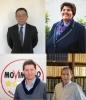 Magnago - I quattro candidati sindaci