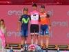 Sport - Il podio del Giro d'Italia 2017