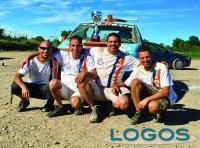 Sport - I quattro amici al termine della gara